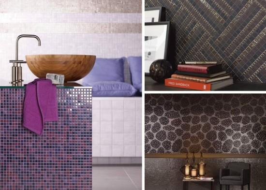 Collage Mosaikfliesen Traditionsmarke Jasba