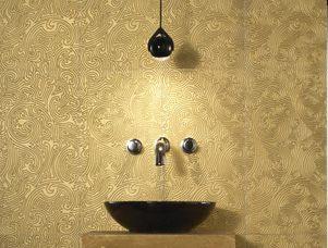fliesen mit gold und glitzereffekten. Black Bedroom Furniture Sets. Home Design Ideas