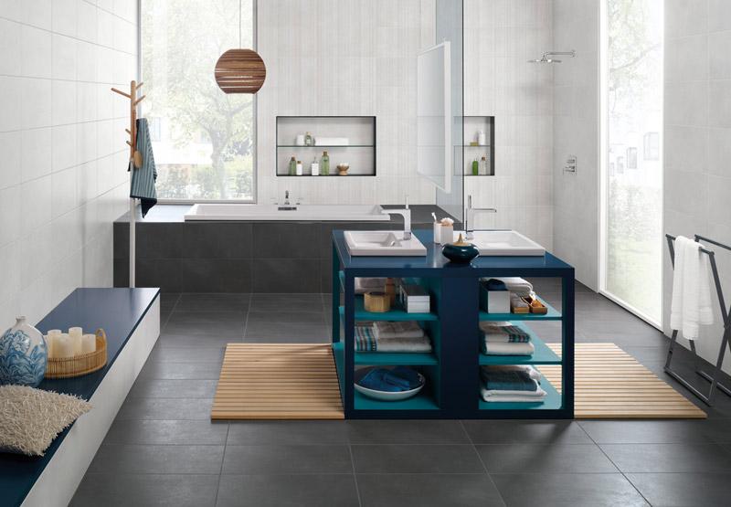badezimmer badezimmer holzfliesen grau badezimmer. Black Bedroom Furniture Sets. Home Design Ideas