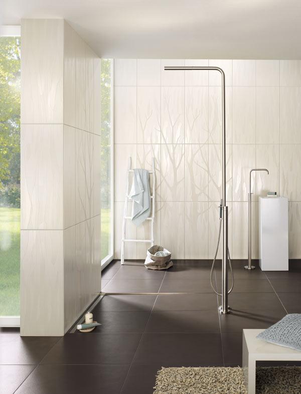 grenzenloses duschvergnügen mit einer bodenebenen dusche, Wohnzimmer dekoo