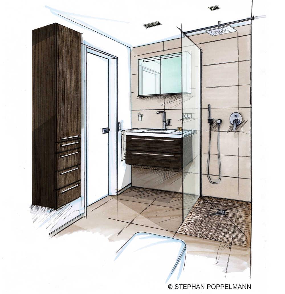 wohlf hlbad auf kleinster fl che verwirklichen. Black Bedroom Furniture Sets. Home Design Ideas