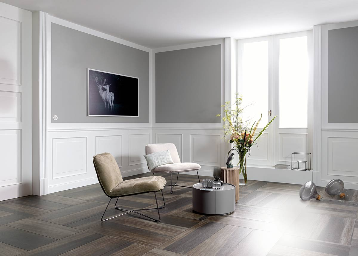 Der Garant Für Gemütlichkeit: Die Holzoptik   Auch Fliesen Können Die  Anmutung Und Die Oberflächenstruktur