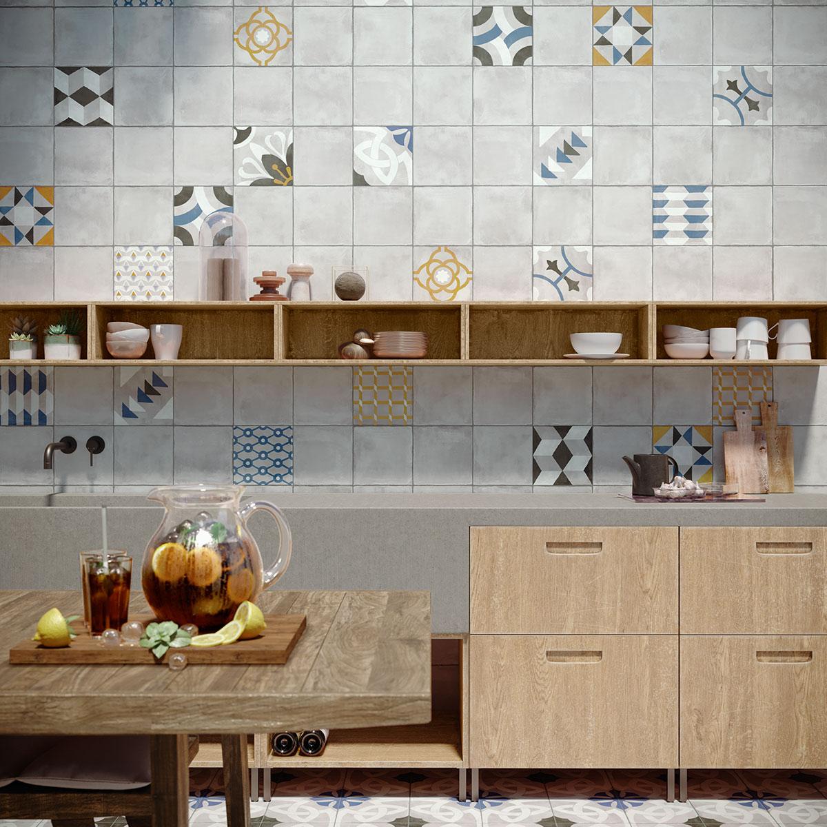 Neue Küchenideen mit Fliesen | Deutsche Fliese