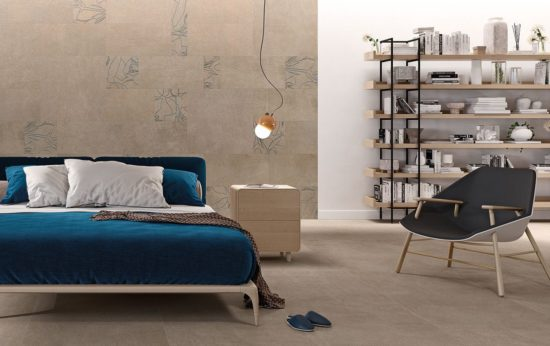 Fliesen im Schlafzimmer: Besonders für Allergiker sind leicht zu reinigende, wohngesunde Bodenbeläge wie Fliesen ein Muss.