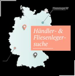 Deutschland Händler- & Fliesenlegersuche